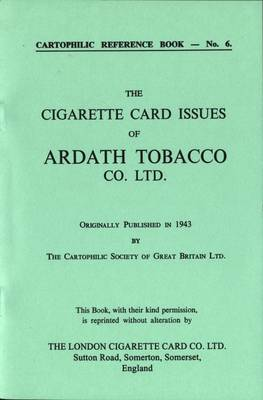 Cigarette Card Issues of Ardath Tobacco Co.Ltd.