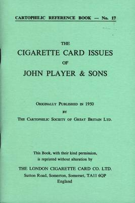 Cigarette Card Issues of John Player & Sons