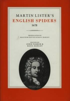 Martin Lister's English Spiders, 1678