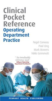 Operating Department Practice: Clinical Pocket Reference