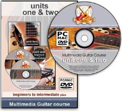GCH Guitar Academy Multimedia Guitar Course: Units 1 and 2 - Beginners to Intermediate Plus