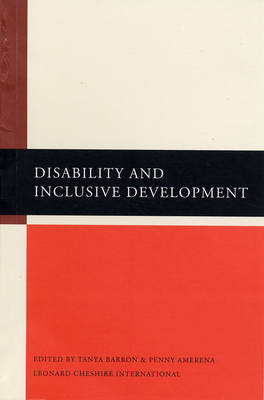 Disability and Inclusive Development