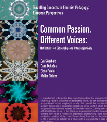 Common Passion, Different Voices: Reflections on Citizenship and Intersubjectivity