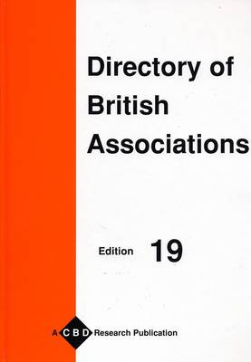 Directory of British Associations: And Associations in Ireland