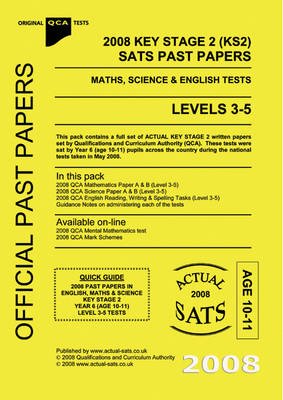 2008 Key Stage 2 (KS2) QCA SATs Past Papers - Maths, Science and English Tests: 2008: Level 3-5