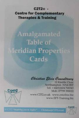 Amalgamated Table of Meridian Properties Cards