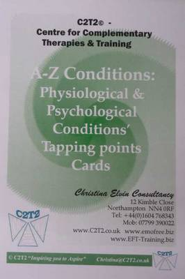 A-Z Conditions: Physiological and Psychological Conditions' Tapping Points Cards