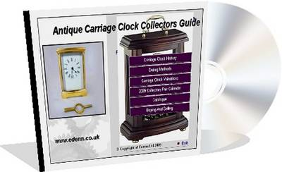 Antique Carriage Clocks Collectors Price Guide