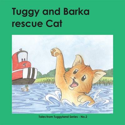 Tuggy and Barka Rescue Cat