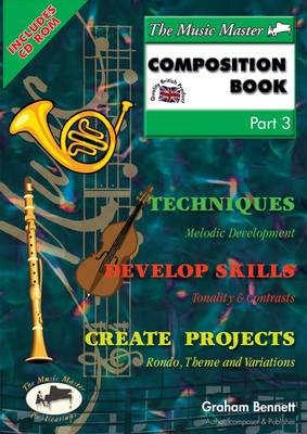 The Music Master Composition Book: Pt. 3