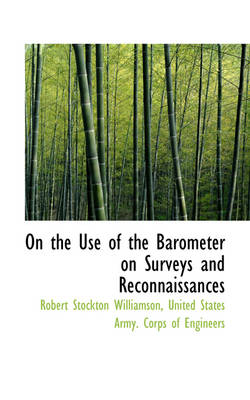On the Use of the Barometer on Surveys and Reconnaissances