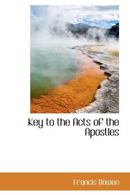 Key to the Acts of the Apostles