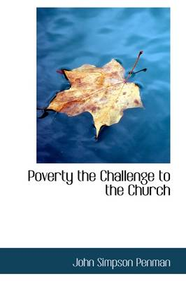 Poverty the Challenge to the Church