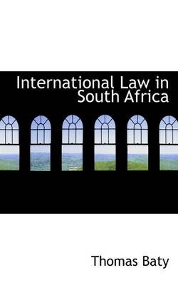 International Law in South Africa