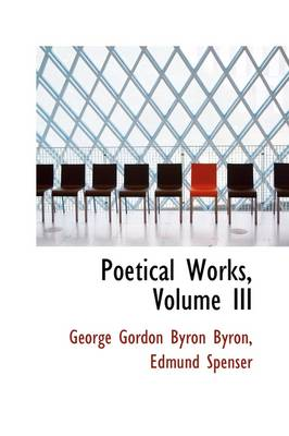 Poetical Works, Volume III
