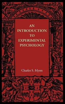 An Introduction to Experimental Psychology