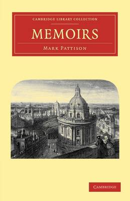 Cambridge Library Collection - Literary  Studies: Memoirs