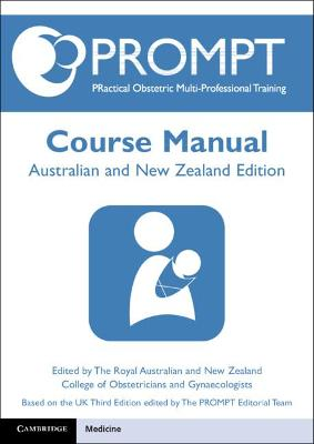 PROMPT Course Manual: Australian-New Zealand Edition