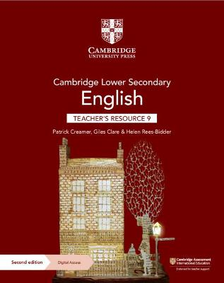 Cambridge Lower Secondary English Teacher's Resource 9 with Digital Access