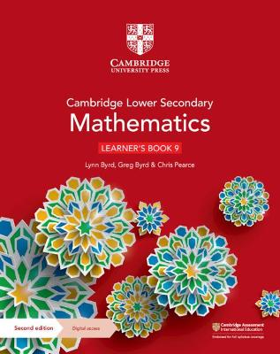 Cambridge Lower Secondary Mathematics Learner's Book 9 with Digital Access (1 Year)