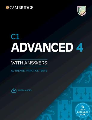 C1 Advanced 4 Student's Book with Answers with Audio with Resource Bank: Authentic Practice Tests