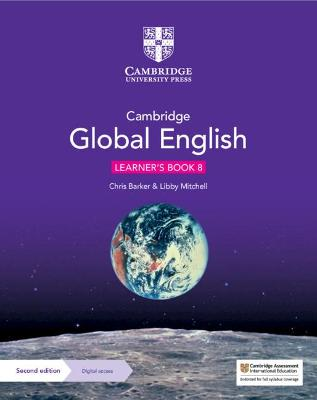 Cambridge Global English Learner's Book 8 with Digital Access (1 Year): for Cambridge Lower Secondary English as a Second Language