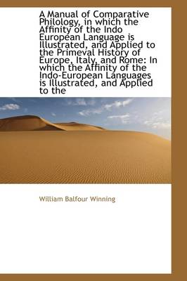 A Manual of Comparative Philology