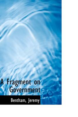 A Fragment on Government