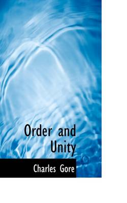Order and Unity