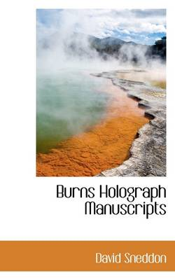 Burns Holograph Manuscripts