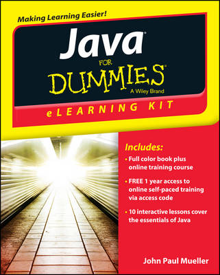 Java eLearning Kit For Dummies(R)