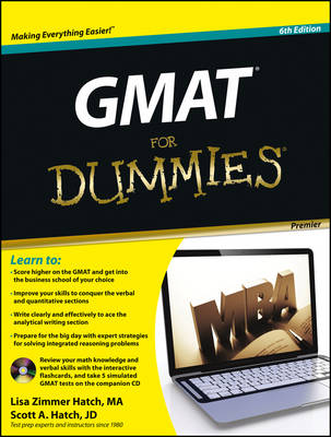 GMAT For Dummies: with CD
