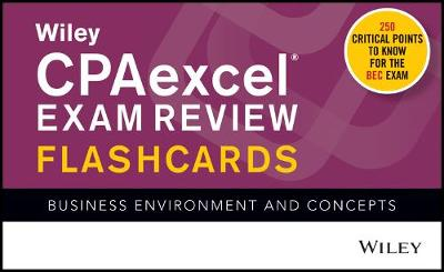 Wiley CPAexcel Exam Review 2020 Flashcards: Business Environment and Concepts