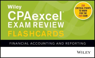 Wiley CPAexcel Exam Review 2020 Flashcards: Financial Accounting and Reporting
