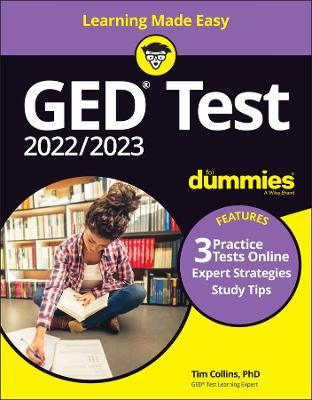 GED Test For Dummies: with Online Practice
