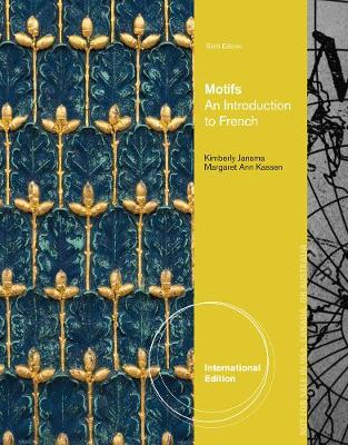 Motifs: An Introduction to French, International Edition