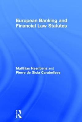 European Banking and Financial Law Statutes