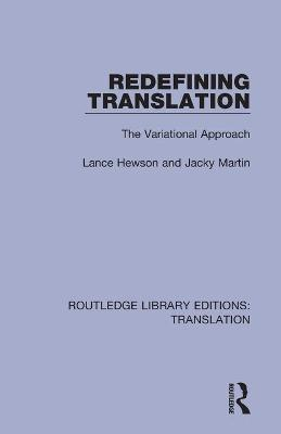 Redefining Translation: The Variational Approach