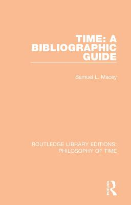 Time: A Bibliographic Guide