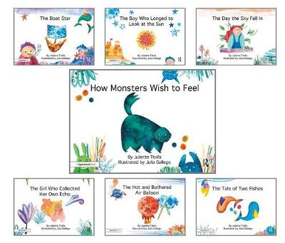 How Monsters Wish to Feel and other picture books: Seven Storybooks Set