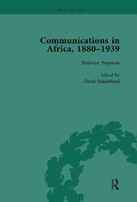 Communications in Africa, 1880-1939 (set)