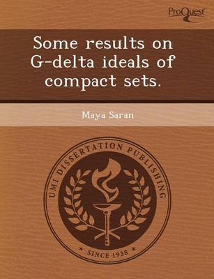 Some Results on G-Delta Ideals of Compact Sets