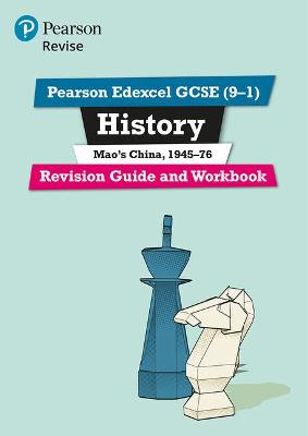 Revise Edexcel GCSE (9-1) History Mao's China Revision Guide and Workbook: (with free online edition)