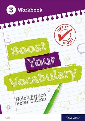 Get It Right: Boost Your Vocabulary Workbook 3