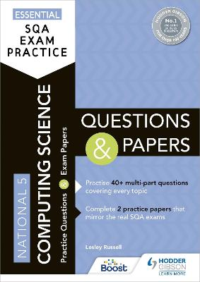 Essential SQA Exam Practice: National 5 Computing Science Questions and Papers
