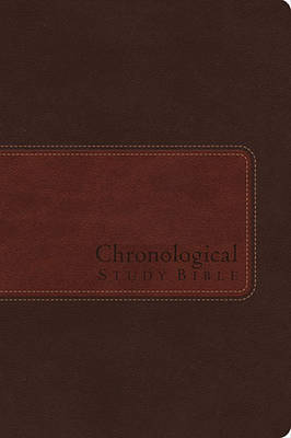 The Chronological Study Bible, NIV, Leather, Brown