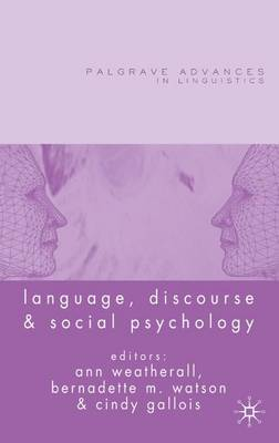 Language, Discourse and Social Psychology