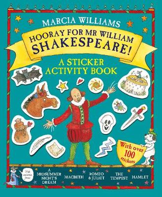 Hooray for Mr William Shakespeare!: A Sticker Activity Book
