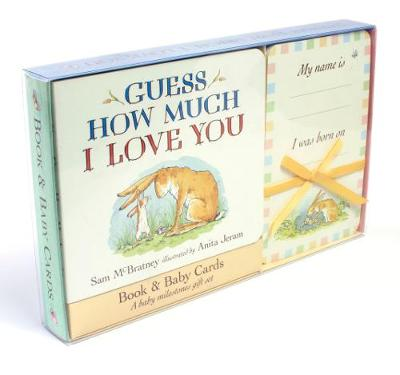 Guess How Much I Love You: Book & Baby Cards Milestone Moments Gift Set