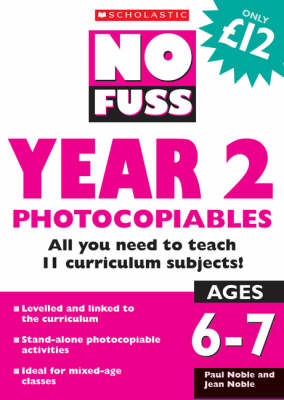 No Fuss: Year 2 Photocopiables